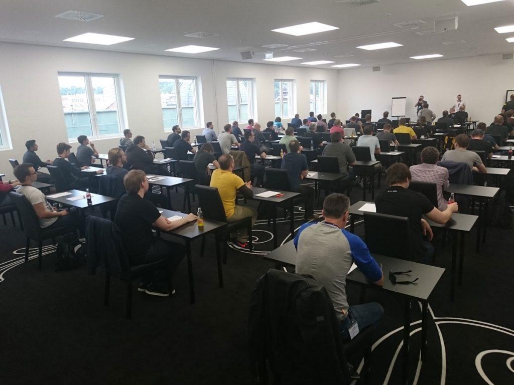 60 Teilnehmer versuchten sich an der Prüfung zum TYPO3 Developer