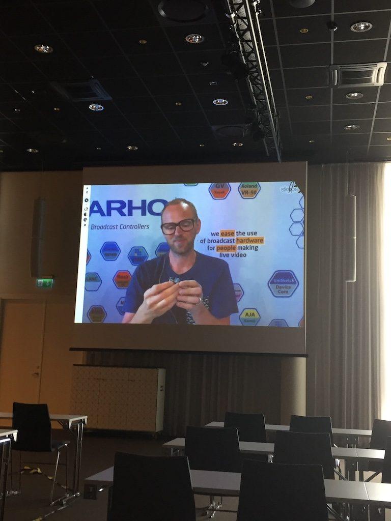 TYPO3 Erfinder Kasper Skarhoj hält die Keynote